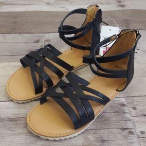Cat & Jack Girls Ankle Stap Gladiator Sandals